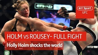 Holly Holm vs Ronda Rousey (UFC 193) | Full Fight