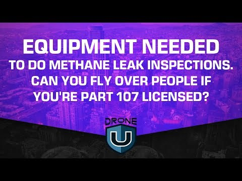 Equipment needed to do methane leak inspections