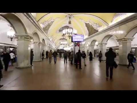 Komsomolskaya Station - (Moscow Russia)