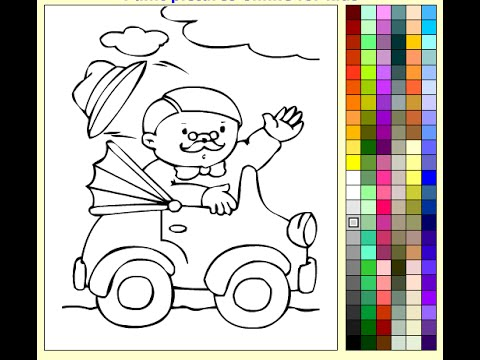 Driving Coloring Pages For Kids