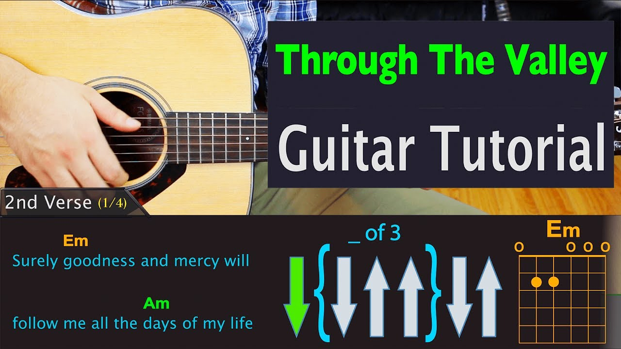 The Last of Us 2 - Through The Valley - Guitar Lesson