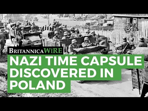 Nazi Time Capsule Discovered in Poland
