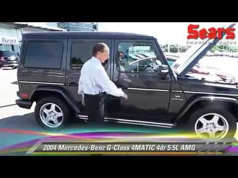 Used 2004 mercedes benz g class 4matic 5 5l amg for Mercedes benz bloomington mn
