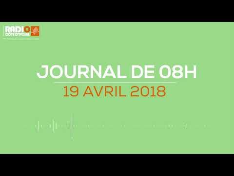 Le journal de 08H00 du 19 avril 2018-Radio Côte d'Ivoire