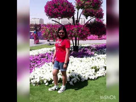 Dubai Miracle Garden 2013 || Gonzales – Sabado Family