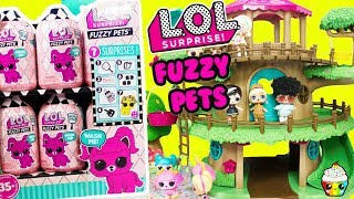 LOL Fuzzy Pets FULL CASE LOL Dolls Find Their Pets Will They All Get One?