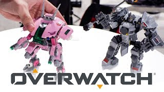 Hands on w/ ALL 6 LEGO Overwatch Sets!