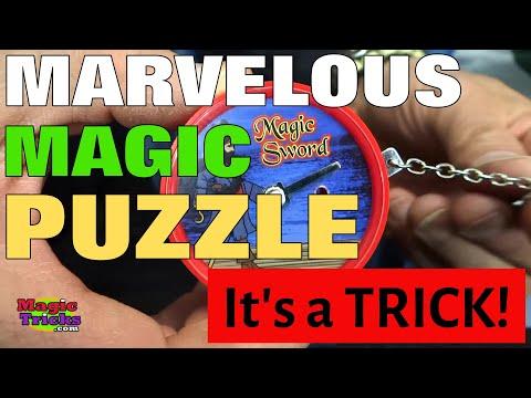 Marvelous Magic Sword Puzzle- Fascinating Optical Illusion