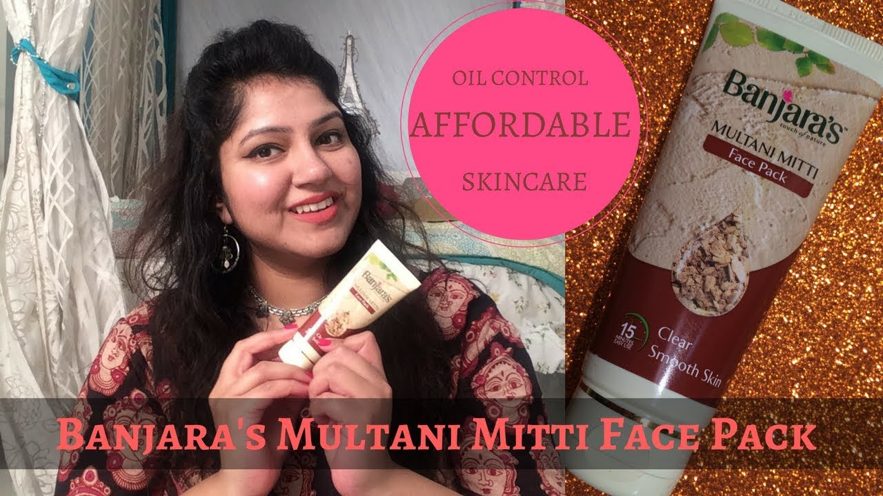 Banjara S Multani Mitti Face Pack Review Affordable Skincare For Oily Skin Reduce Pimples
