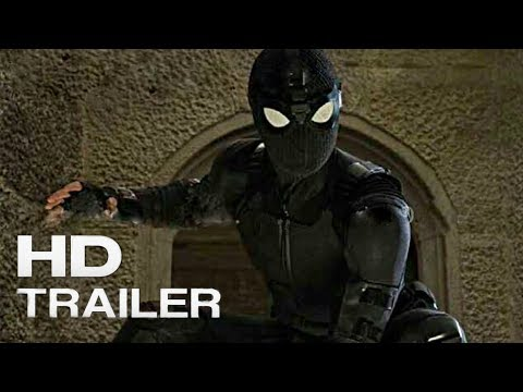 Spider-Man: Far From Home - Comic-Con Trailer (2019) Tom Holland Superhero Action Movie Concept HD.