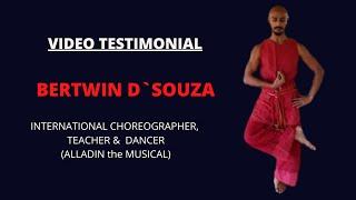 TESTIMONIAL BERTWIN D`SOUZA