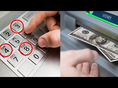 ATM FREE MONEY TRICK (Life Hacks)