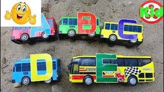 学习字母与汽车 - 玩具儿童S127T孩子工作室