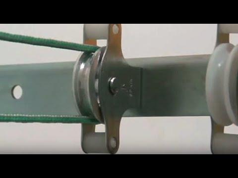 C mo poner un tendedero de brazos de metal con poleas - Como colocar las cuerdas de un estor ...