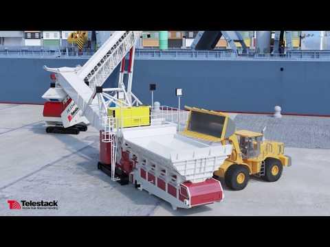 Telestack Shiploading Solutions Animation