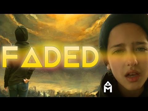 Alan Walker - Faded - 9 years old - ARIANN cover (lyrics)