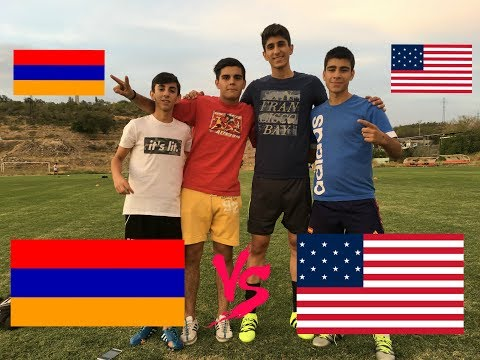 FOOTBALL CHALLENGE / ARMENIA VS AMERICA