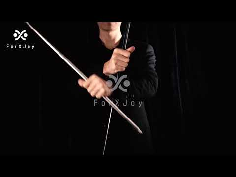 Repeat Metal Appearing Cane Stage Magic Pocket Bo Staff
