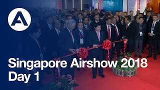 Singapore Airshow 2018 - Highlights Day 1