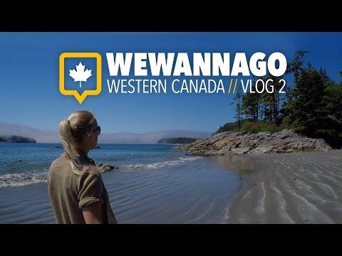 Exploring the beaches of Tofino // British Columbia Canada // WEWANNAGO VLOG 2