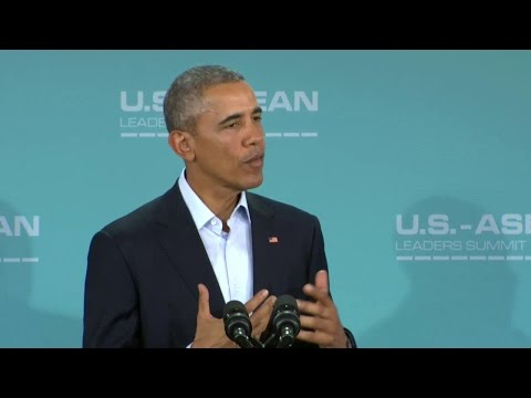 President Obama at U.S.-ASEAN Leaders Summit Press Conference