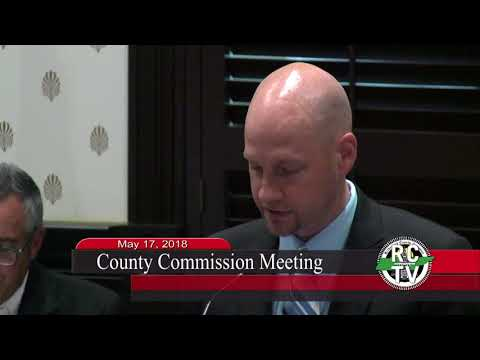 County Commission - May 17, 2018