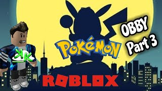 ROBLOX Pokemon OBBY Part 3 Game Play on Xbox One - Finding Our Way To Pikachu