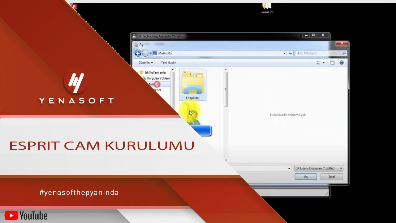 100% original billig zu verkaufen super service ESPRIT Cam Kurulumu