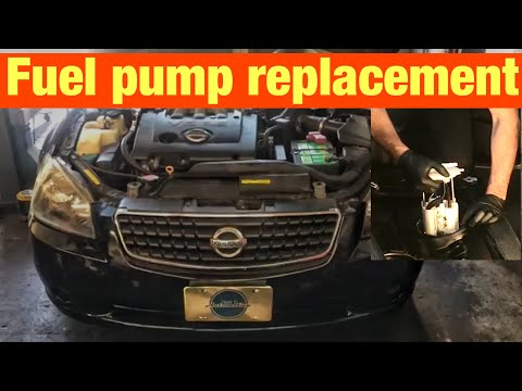 How to Replace the Fuel Pump on a 2001-2006 Nissan Altima