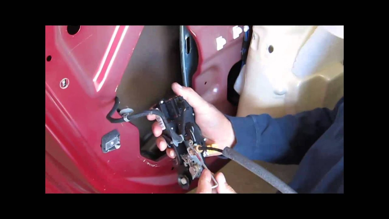 how to replace rear door lock actuator on 2008 impala youtube rh youtube com