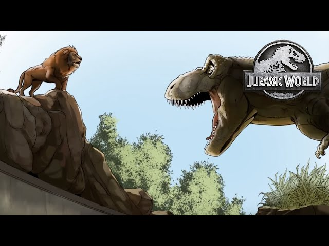 Le rugissement - Motion Comic Ep. 3 | Jurassic World
