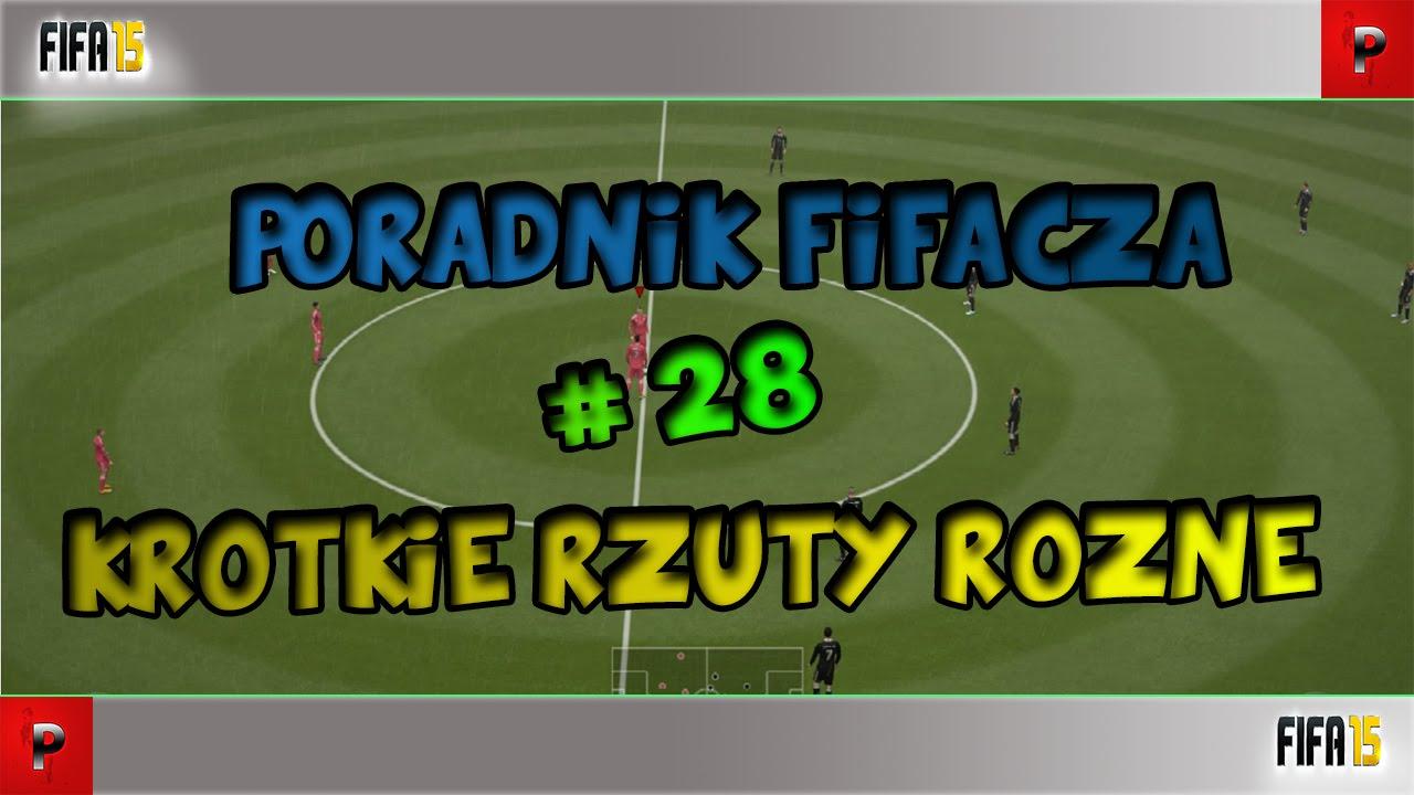 Jak grać w FIFA 15 - Krótkie rzuty rożne