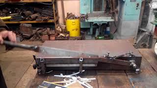 Ножницы (гильотина) для нарезки электрокартона