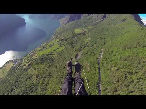 Paragliding Norway - Hordaland 2016