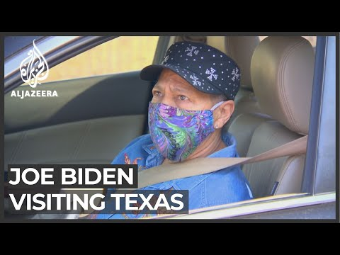 Biden pledges support to those affected by the snowstorm in Texas