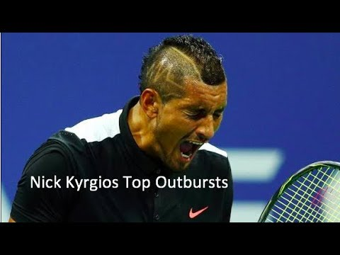 Nick Kyrgios Top Rage Moments/Outbursts