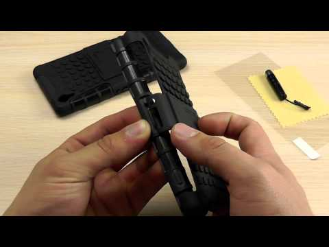 Обзор: Противоударный Чехол для Sony Xperia Z2 (D6502, D6503, D6543, L50h) с Подставкой