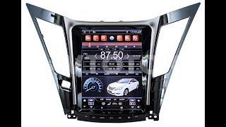 Штатная магнитола в стиле Tesla для Hyundai Sonata 2011+ KR-10405