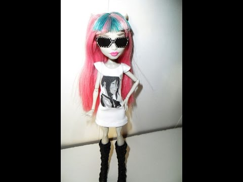 Как сделать картинку на кукольной одежде -Мастер-класс