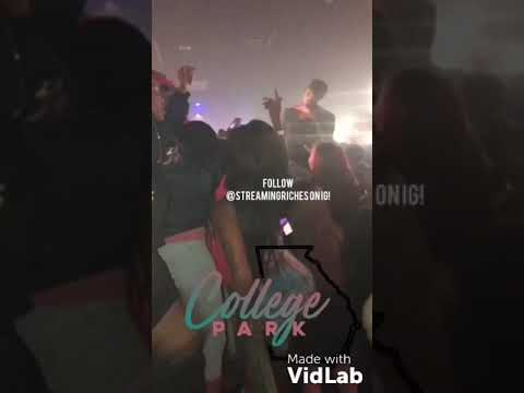 NBA Youngboy Show In Atlanta At The Palace ( Shootout In Parking Lot)