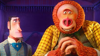 MISSING LINK Extended Trailer #2 - Hugh Jackman & Zach Galifianakis Animated Movie