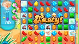 Candy Crush Soda Saga Level 843 - no boosters