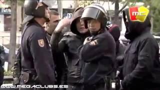 Ac Milan vs Real Madrid - Fans Fight