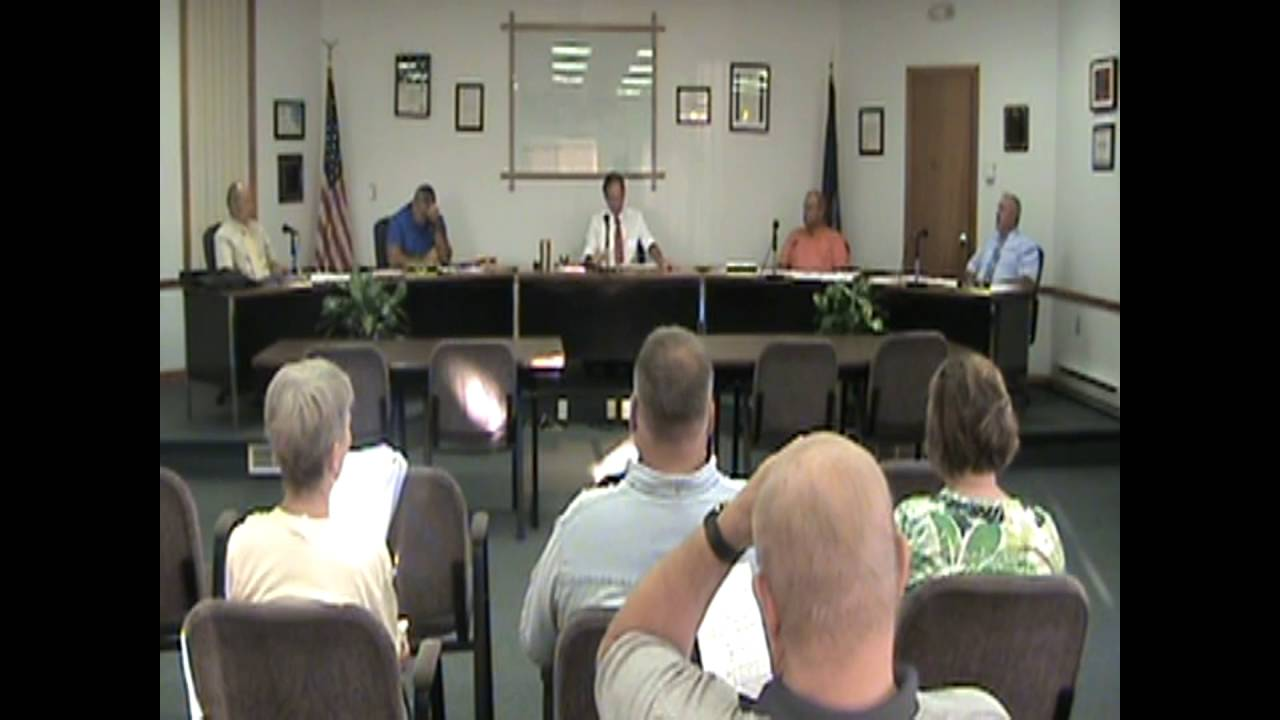 Rouses Point Village Board Meeting  8-1-16