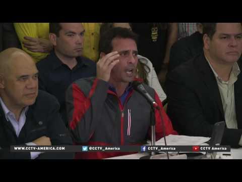 Venezuela election officials suspend recall drive against Maduro