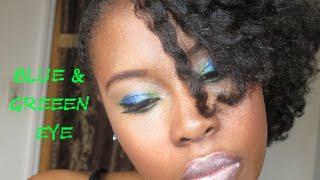 Blue & Green Eye Thumbnail