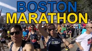 2017 Boston Marathon First Person Vlog
