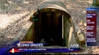Open Graves in Jacksonville Cemeteries
