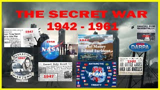 The Secret war:  Antarctica Peace Treaty, Unseen Images!