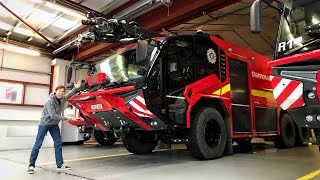 2019 Rosenbauer PANTHER Airport Fire Engine (Full Tour Latest Tech)